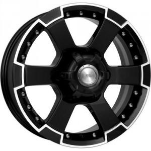 Диск колесный K&K М56 7x16/6x139.7 D67.1 ET38 Алмаз черный