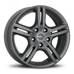 Диск 6.5x16 5x100 ET48 D56.1 MAK Veloce Light Ice Black