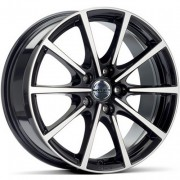 Black polished