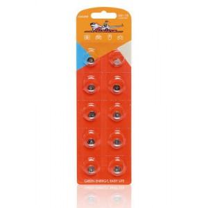 Батарейка AG1/LR621 щелочная 10 шт. (AG1-10) AIRLINE