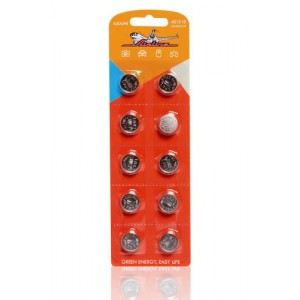 Батарейка AG12/LR43 щелочная 10 шт. (AG12-10) AIRLINE