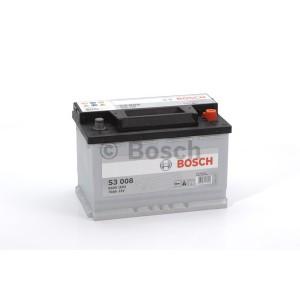 Аккумулятор Bosch S3 70 Ач Обратная пол(Высота: 190)