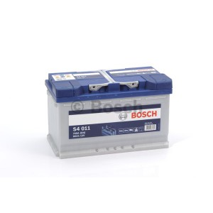 Аккумулятор Bosch S4 Silver 80 Ач Обратная пол(высота 190)