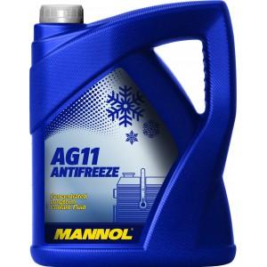 Антифриз-концентрат MANNOL Longterm Antifreeze AG11, 5л
