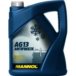 Антифриз-концентрат MANNOL Hightec Antifreeze AG13, 5л