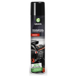 "Полироль-очиститель пластика GRASS ""Dashboard Cleaner"" вишня (аэрозоль 750 мл)"