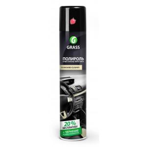 """Полироль-очиститель пластика GRASS """"Dashboard Cleaner"""" клубника (аэрозоль 750 мл)"""