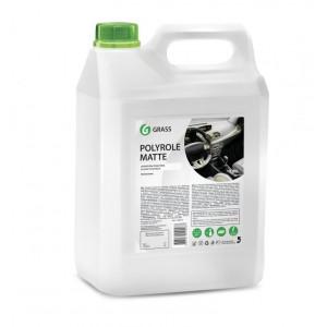 """Полироль-очиститель пластика матовый GRASS """"Polyrole Matte"""" (канистра 5 кг)"""