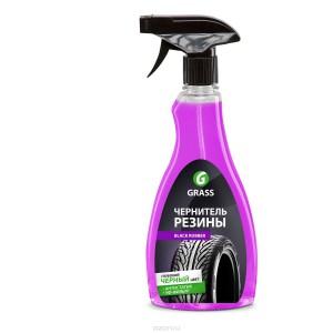"Полироль для шин GRASS ""Black rubber"" (флакон 500 мл)"
