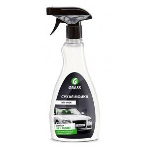 """Средство для мойки автомобиля без воды GRASS """"Dry Wash"""" (флакон 500 мл)"""