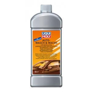 Автошампунь с воском Liqui moly Auto-Wasch & Wachs