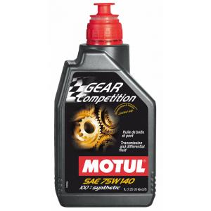 Трансмиссионное масло MOTUL Gear Competition 75W-140