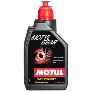 Трансмиссионное масло MOTUL Motylgear 75W-80