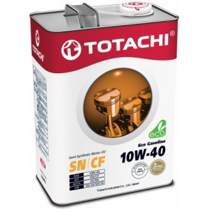 TOTACHI Eco Gasoline 10W-40 (new). 4 л