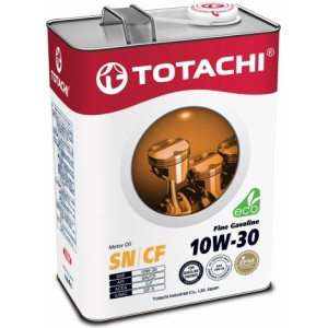 TOTACHI Fine Gasoline 10W-30, 4 л