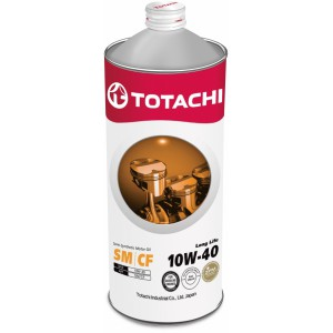 TOTACHI Long Life 10W-40(Спецификация: ACEA A3/B4, API SN/CF), 1 л