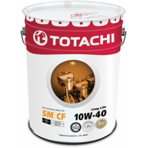 TOTACHI Long Life 10W-40(Спецификация: ACEA A3/B4, API SN/CF), 20 л