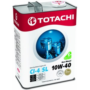 TOTACHI Eco Diesel 10W-40, 4 л