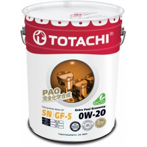TOTACHI Extra Fuel Economy 0W-20, 20 л