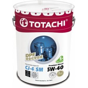 TOTACHI Premium Diesel 5W-40, 20 л