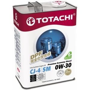 TOTACHI Premium Economy Diesel 0W-30, 4 л