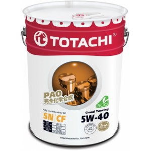 TOTACHI Grand Touring 5W-40, 20 л