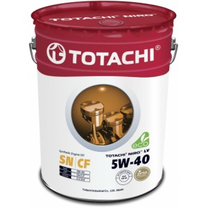 TOTACHI NIRO LV SYNTHETIC 5W-40, 20 л