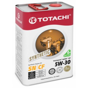 TOTACHI NIRO LV SYNTHETIC 5W-30, 4 л
