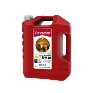 TOTACHI DENTO ECO GASOLINE SEMI-SYNTHETIC 10W-40, 4 л