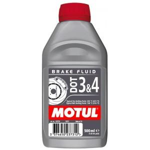 Тормозная жидкость MOTUL DOT 3 & 4 BRAKE FLUID, 1Л