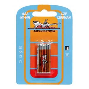 Батарейки AAA HR03 аккумулятор Ni-Mh 1200 mAh 2шт. AIRLINE