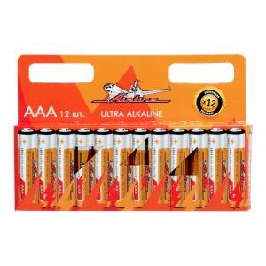 Батарейки LR03/AAA щелочные 12 шт. AIRLINE