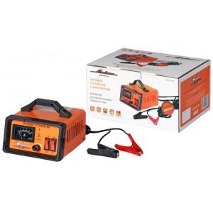 Зарядное устройство 0-10А 6В/12В, амперметр, ручная регулировка зарядного тока, импульсное AIRLINE