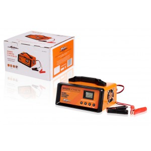 Зарядное устройство 5/10/15/20А 12В, автоматическое LCD дисплей, импульсное (ACH-20AU-09) AIRLINE