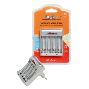 Зарядное устройство для AA/AAA NiMh/NiCd аккумуляторов AIRLINE
