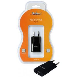 Адаптер USB 1A 220В AIRLINE