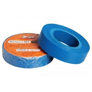 Изолента ПВХ, синяя, 15 мм*10 м AIRLINE