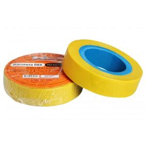Изолента ПВХ, желтая, 15 мм*10 м AIRLINE
