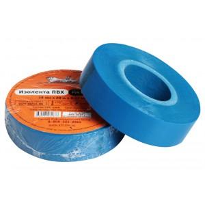 Изолента ПВХ, синяя, 19 мм*20 м AIRLINE