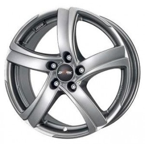 Диск 8.0x18 5x115 ET45 D70.2 Alutec Shark Racing Black Front Polished