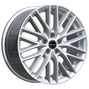 Диск колесный Borbet BS5 7.5x17/5x112 D72.5 ET35 Brilliantsilber-Lackiert