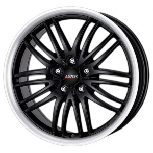 Диск 8.0x17 5x105 ET40 D56.6 Alutec BlackSun Racing Black Lip Polished