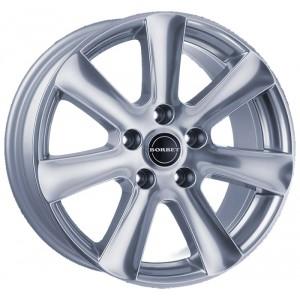 Диск колесный Borbet CA 6.5x15/5x112 D72.5 ET47 Kristallsilber - Lackiert
