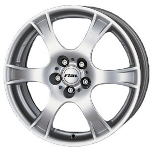 Диск колесный Rial Campo 6.5x16/4x108 D63.3 ET42 Polar Silver