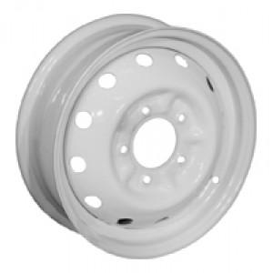 16x5.0   5x139.7   ET58   d98   ВАЗ-2121 (Нива)   белый  эмал.  Кременчугский колёсный завод