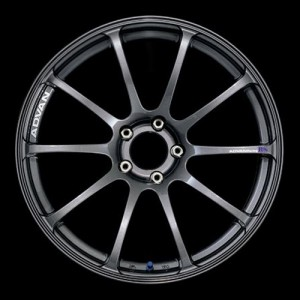 Диск колесный Advan RS 9.5x18/5x120 D72.5 ET35 Dark Gun Metallic