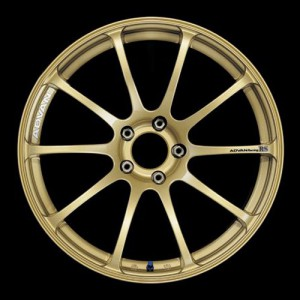 Диск колесный Advan RS 7.5x18/5x114.3 D73 ET48 Gold