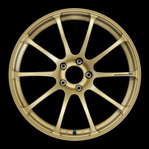 Диск колесный Advan RS 9x18/5x114.3 D73 ET29 Gold