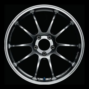 Диск колесный Advan RZ-DF 8.5x18/5x120 D72.5 ET35 Machining & Racing Hyper Black