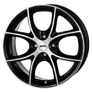 Диск 8.5x18 5x108 ET40 D70.1 Alutec Cult Diamant black front polished
